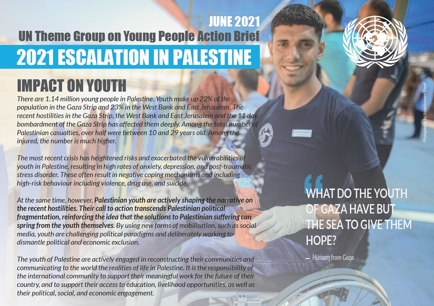 Impact of 2021 Escalations on Youth