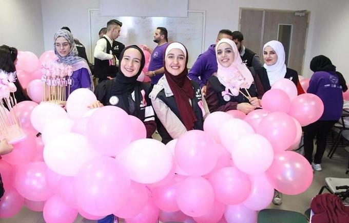 لقاء توعوي بخصوص سرطان الثدي نظّمه الإغاثة الطبية، بدعم من صندوق الأمم المتحدة للسكان