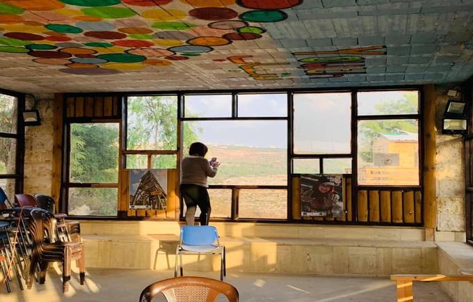 Young Girl at Kufr Ni'meh Youth Village